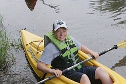 learn to canoe / kayak